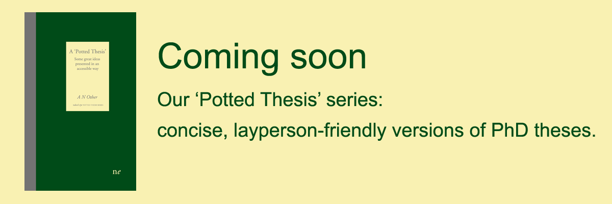 Potted Thesis banner copy