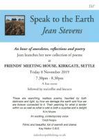 Jean Stevens - book launch
